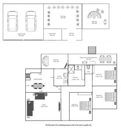 124 Allunga Road, Chigwell Floor Plan