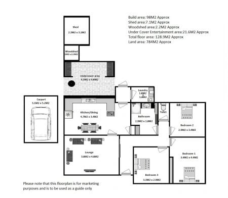 27 Arunta Crescent floorplan
